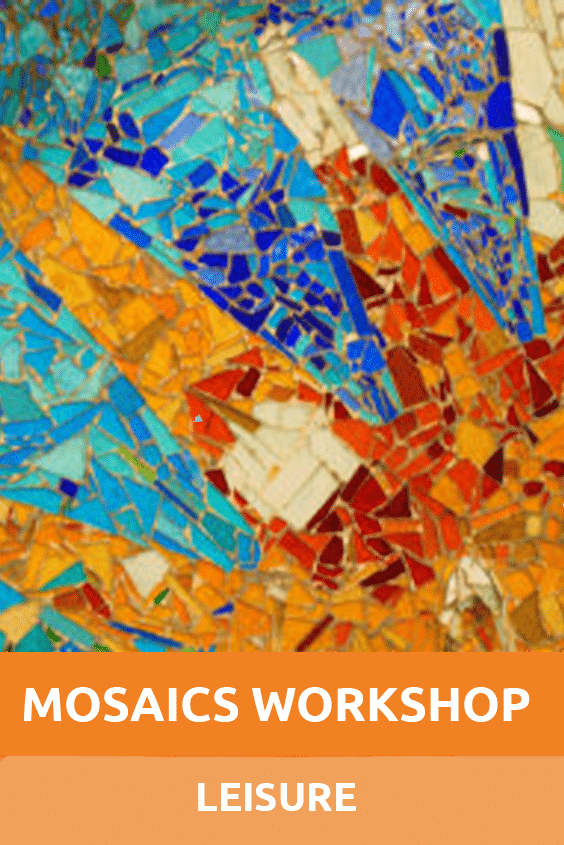 Leisure Mosaics Workshop Sensory Traveller Holidays