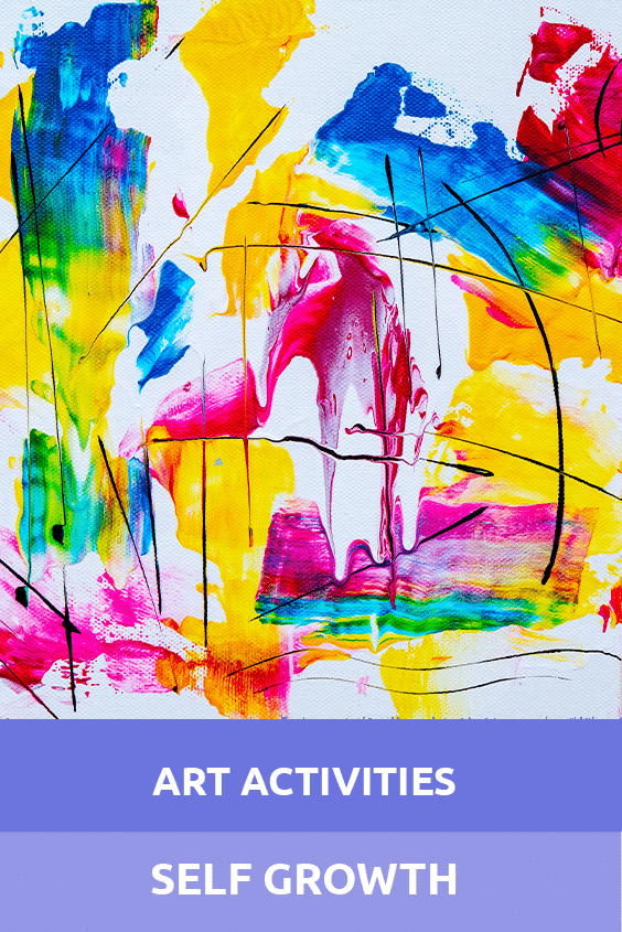 Self Growth Art Activities Sensory Traveller Holidays