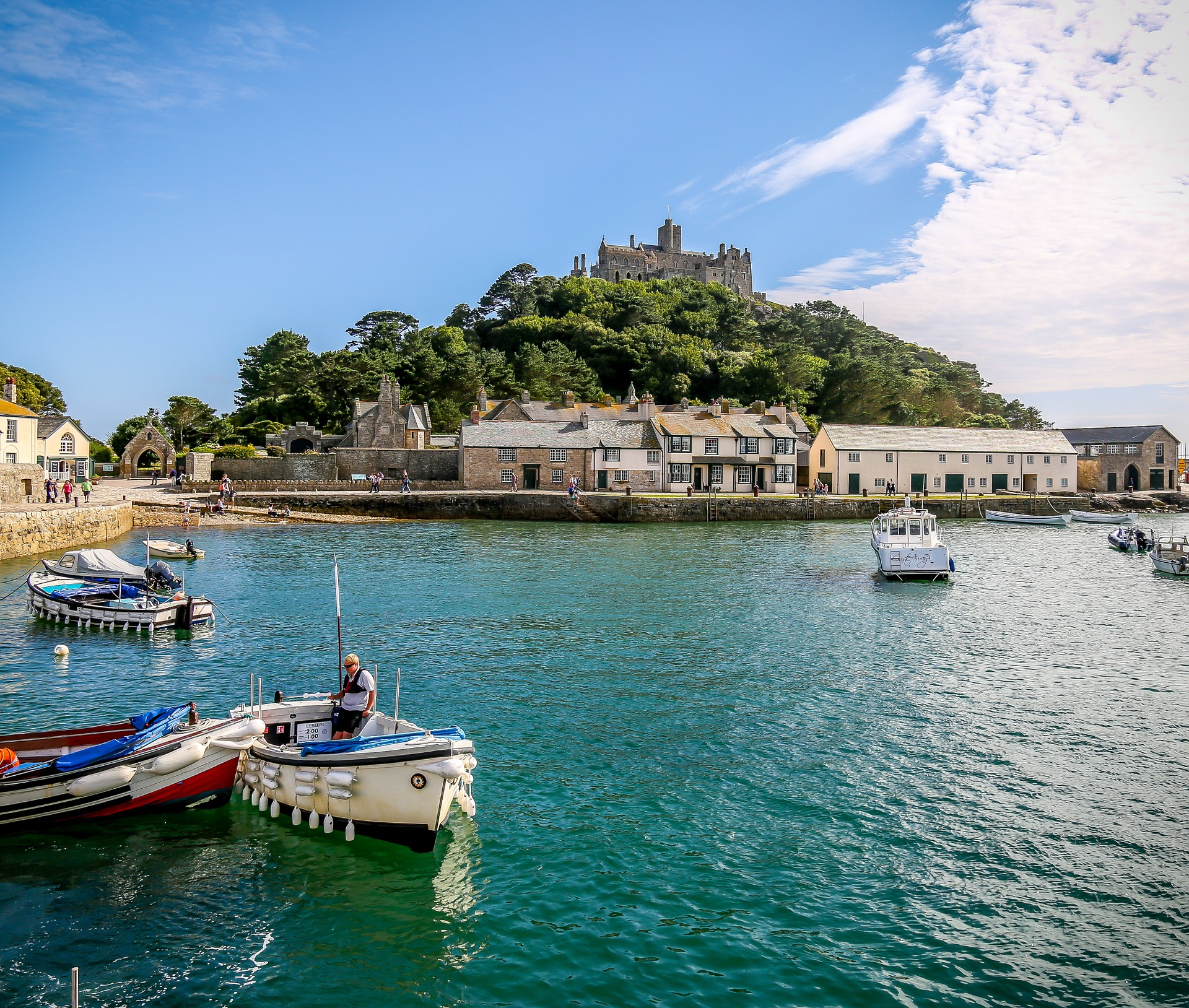 St Michaels Mount Harbour Sensory Traveller Holidays