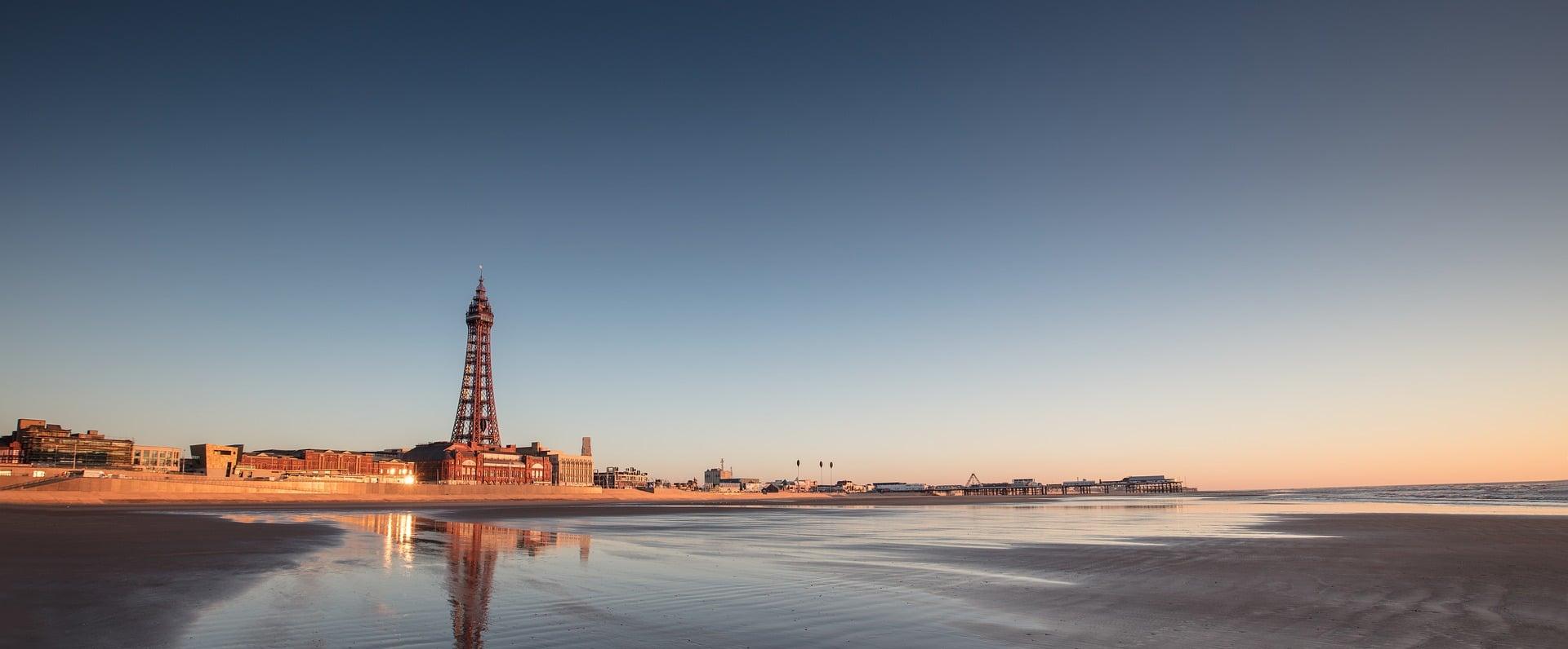 Beach Blackpool Sensory Traveller Holidays
