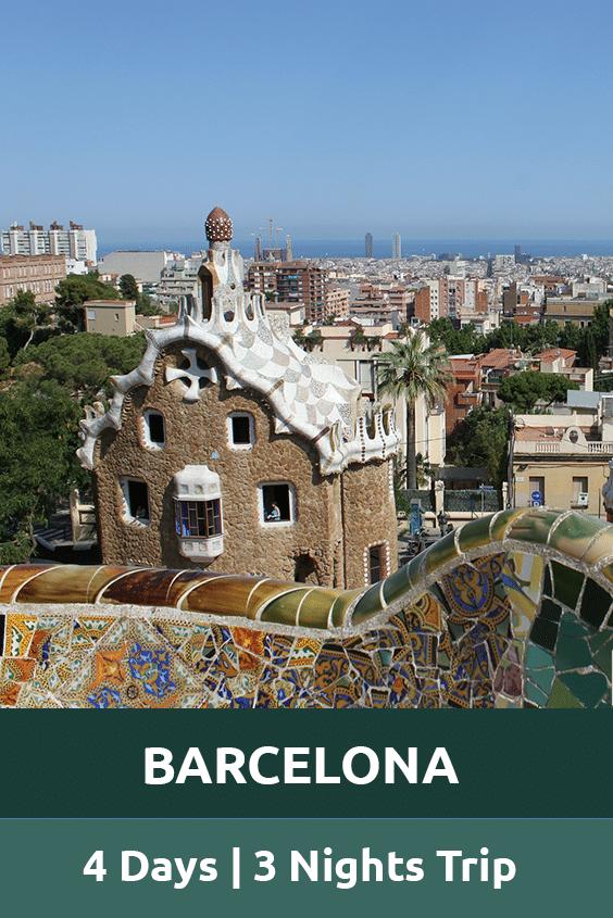 Barcelona 4 days 3 nights trip Sensory Traveller Holidays