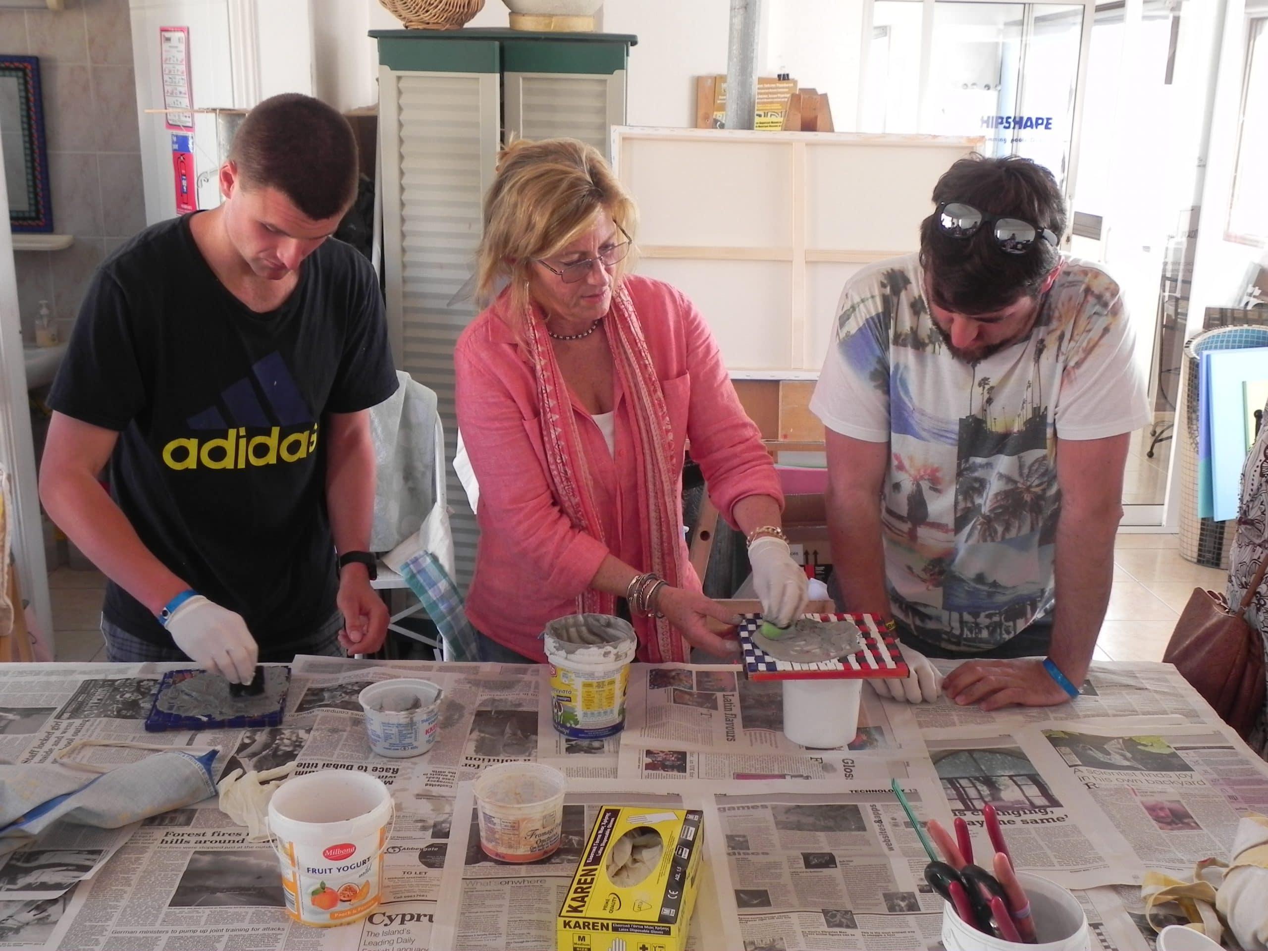 Mosaics Workshop Sensory Traveller Holidays