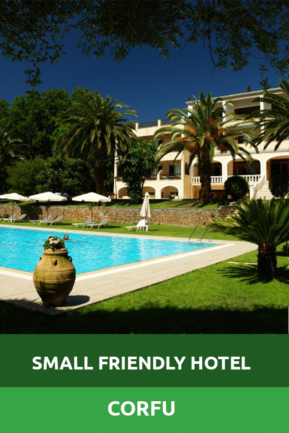 Small Friendly Hotel Corfu Sensory Traveller Holidays