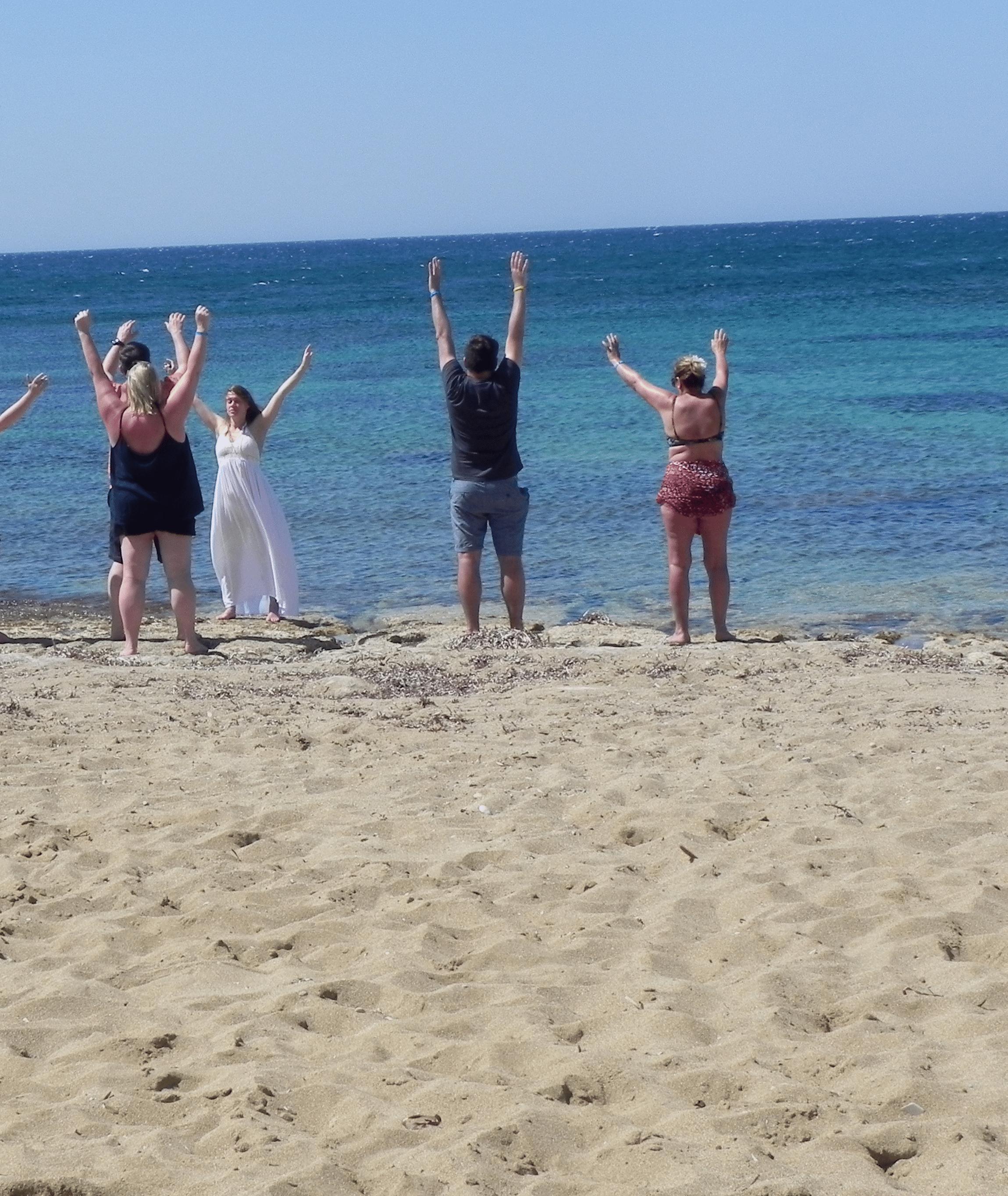 Yoga on the Beach Sensory Traveller Holidays