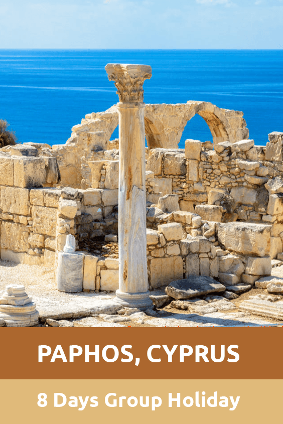 Paphos 8 Days Group Holiday Sensory Traveller Holidays