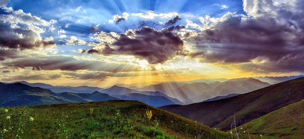 sunset nature Sensory traveller Holidays